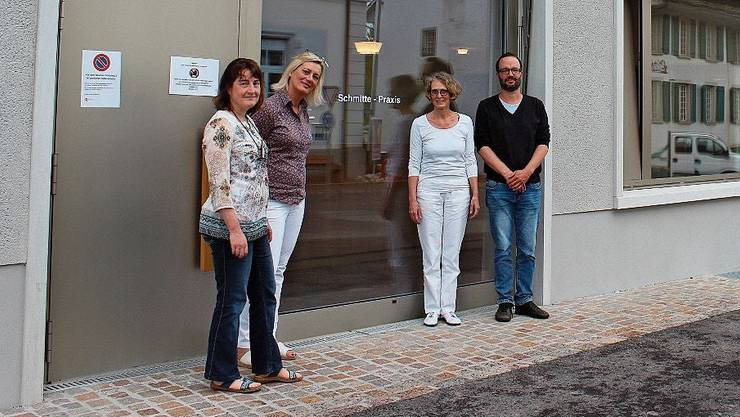 Das Ärzteteam: (v.l.) Maja Friess, Claudia Peter, Angela Hett und Thomas Grüter.