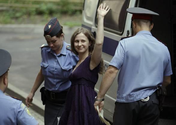 Yekaterina Samutsevich...