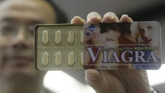 Gefälschte Viagrapackung (Symbolbild)