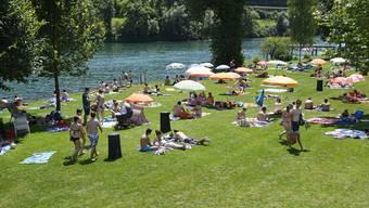Die Badi Solothurn. (Archiv)