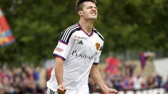 Einst Stürmerhoffnung beim FCB, nun auf dem Absprung: der erst 18-jährige Stürmer Albian Ajeti.