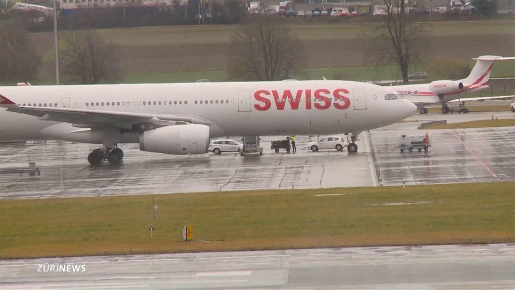 Coronavirus: Entwarnung nach Verdachtsfall am Flughafen Zürich