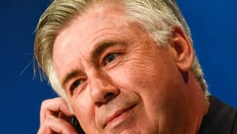 Carlo Ancelotti hat gut lächeln: Jetzt ist er auch Meister in Deutschland