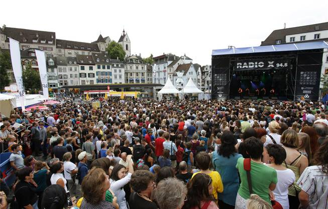 Jugendkulturfestival: Das Fest für die Jugend rund um den Barfüsserplatz hat sich in den vergangenen Jahren zu einem der grössten Festivals in Basel gemausert.