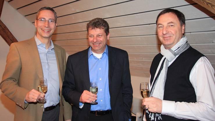 Von links: Stefan Nieland, Thomas Reber und Beni Strasser. wpo