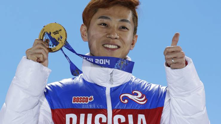 Viktor Ahn und weiteren 44 russischen Sportlern wurde das Startrecht an den Olympischen Winterspielen in Pyeonchang verweigert