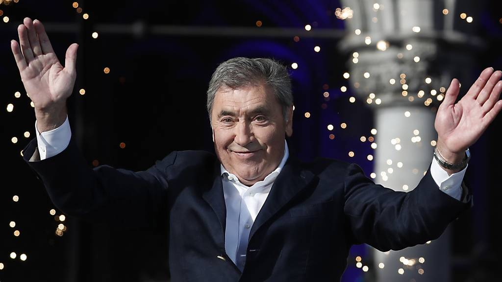 Rad-Legende Eddy Merckx nach Sturz im Spital