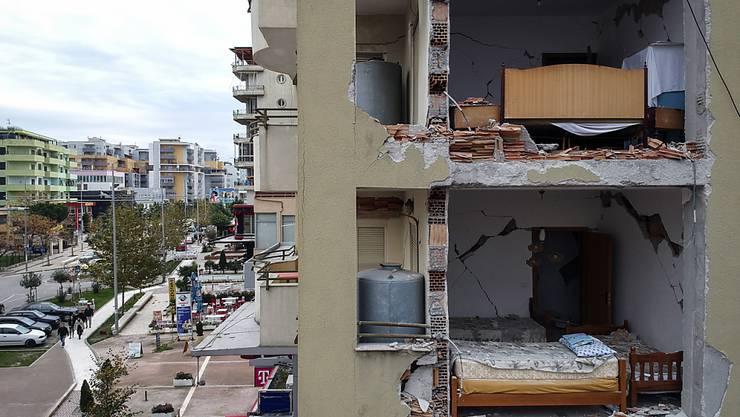 Nach einem starken Erdbeben in Albanien sind zahlreiche Personen wegen möglicher Umgehung von Bauvorschriften festgenommen worden. (Archivbild vom November 2019)