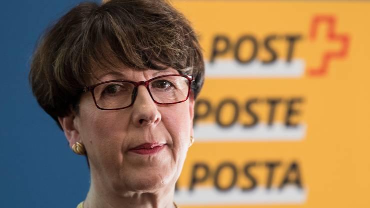 Die frühere Post-Chefin Susanne Ruoff muss die Untersuchungen abwarten, bevor sie den flexiblen Anteil ihres Lohns empfangen darf.