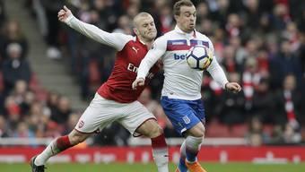 Xherdan Shaqiri im Spiel gegen Arsenal