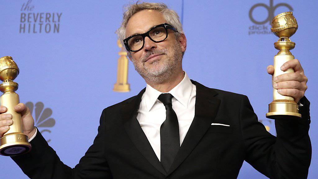 Der mexikanische Regisseur Alfonso Cuarón ist mit seinem Film «Roma» nach den Golden Globes für eine weitere Auszeichnung nominiert worden.