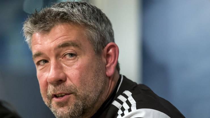 Urs Fischer hofft für seinen Ex-Verein, den FC Zürich, dass er den Klassenerhalt schafft.