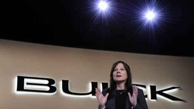 Mary Barra übernimmt das Steuer bei General Motors (Archivbild)