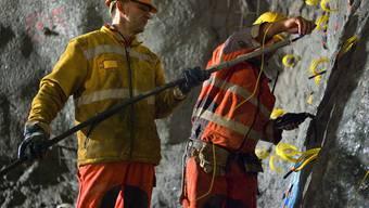 Mineure bereiten Sprengung vor (Archiv)