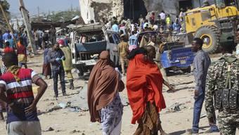 Bilder der Zerstörung in Somalia.