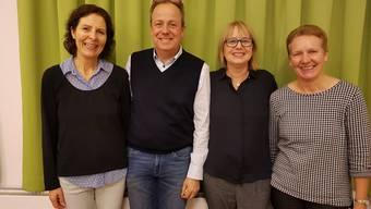 V.l.: Sommerhalder, Gilardoni, Venditti, Frei.