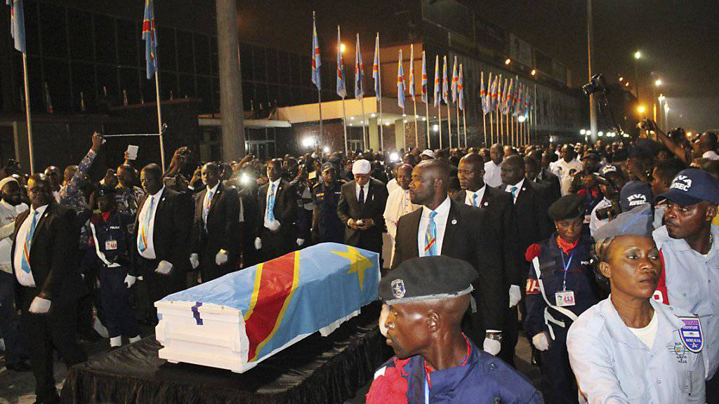 Kongolesischer Oppositionsführer Tshisekedi in Heimat beigesetzt