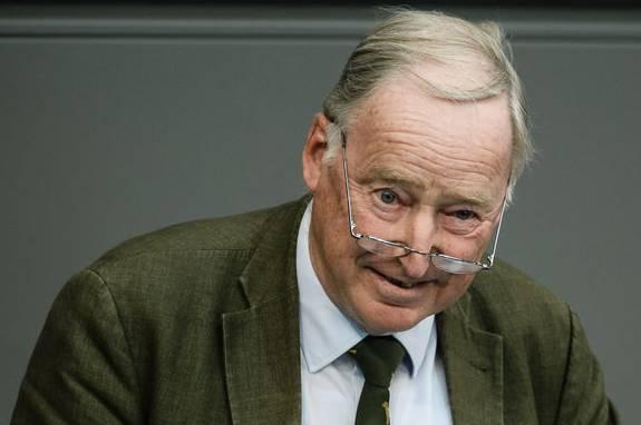 Schreiber: «Man versteht nicht, wie gefährlich diese Partei ist» – im Bild Alexander Gauland, Bundesvorsitzender der AfD.