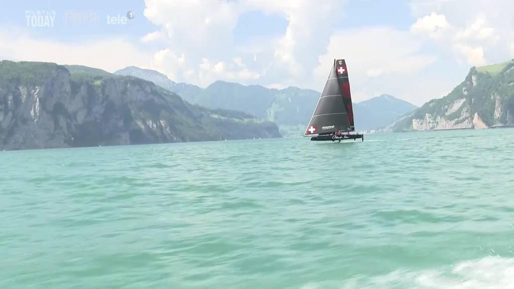 Das Sarner Segel-Team «Black Star» will die Nr. 1 in der Schweiz sein