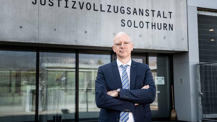 Charles Jakober ist seit Herbst 2016 Direktor der Justizvollzugsanstalt in Deitingen.