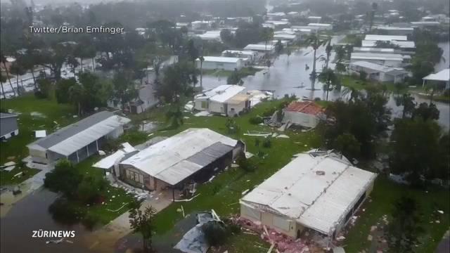 Irma hinterlässt eine Spur der Verwüstung