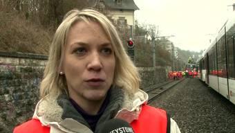 Neun Personen nach Zugunglück in Neuhausen im Spital