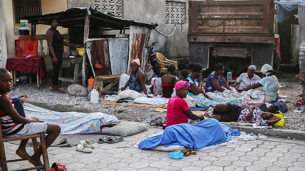 Die nächste Katastrophe: Haiti erlebt erneut schlimmes Erdbeben