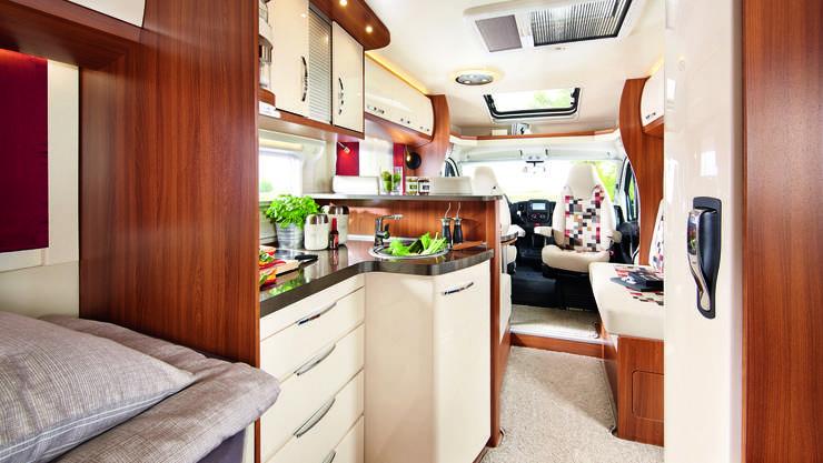 Touringcars Wohnmobil Interior