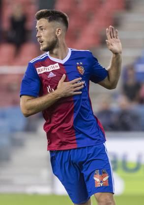 Entschuldigende Geste: Ricky van Wolfswinkel hat seinen Jugendverein «abgeschossen».