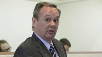 Schweigt: GPK-Präsident Hanspeter Weibel.