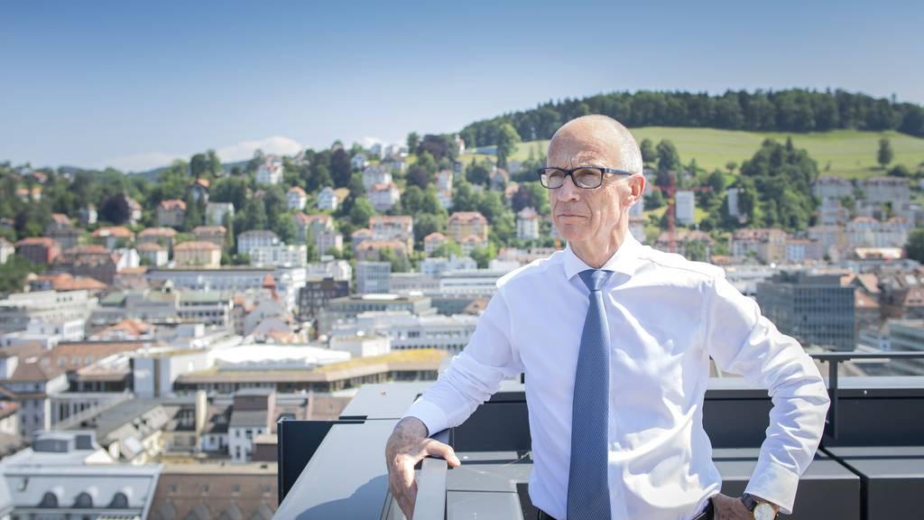 Stadt St.Gallen budgetiert ein Defizit