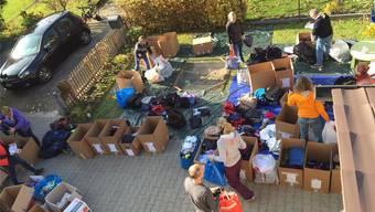 Aargauer helfen freiwillig auf Lesbos