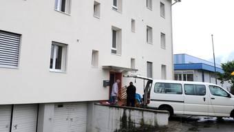 Für insgesamt 90 Asylbewerber ist die Unterkunft in Aarburg ausgelegt, am Mittwoch zogen die ersten neun Personen an der Lindengutstrasse ein.