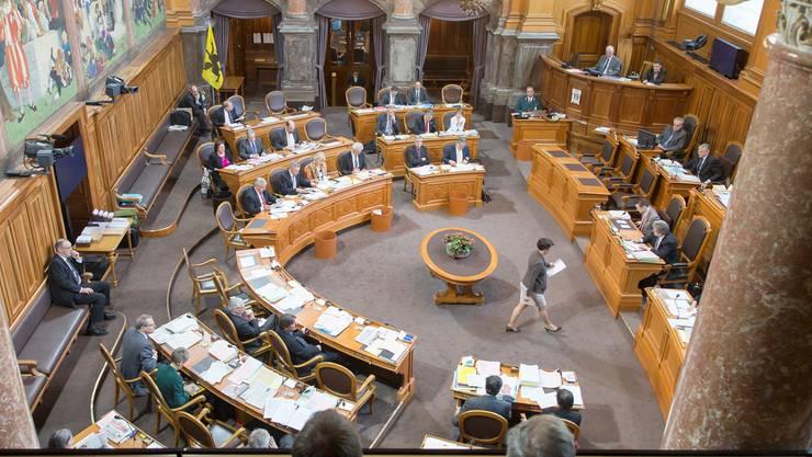 46 Sitze sind im Ständerat zu vergeben – der heisse Tanz um diese ist über ein Jahr vor den Wahlen bereits im Gang.Peter Klaunzer/KEystone