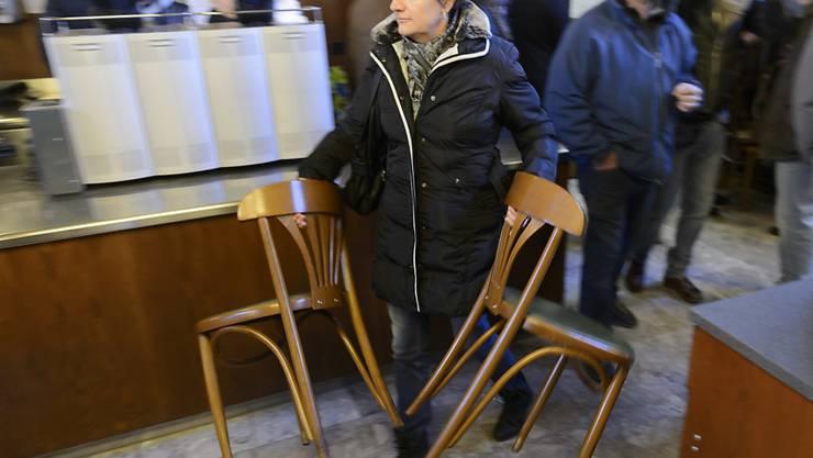In nur drei Tagen wurden auch gegen 900 Stühle verkauft. (Archiv)