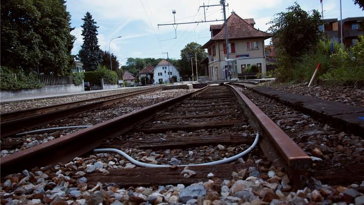 Das Bahnhofsgebäude in Flumenthal soll abgerissen werden.