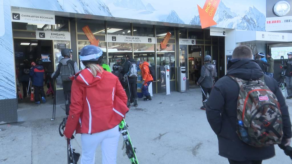 Auch Titlis Bergbahnen spüren die Folgen des Coronavirus