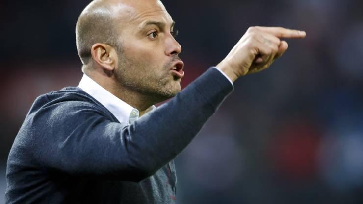 Sion Coach Gabri reagiert heftig auf die sportliche Baisse