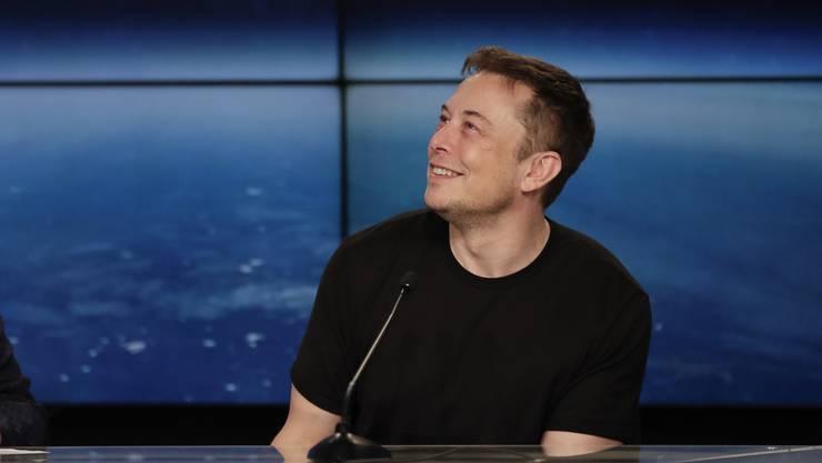 Hat an der Börse für Furore gesorgt: Tesla-Chef Elon Musk.