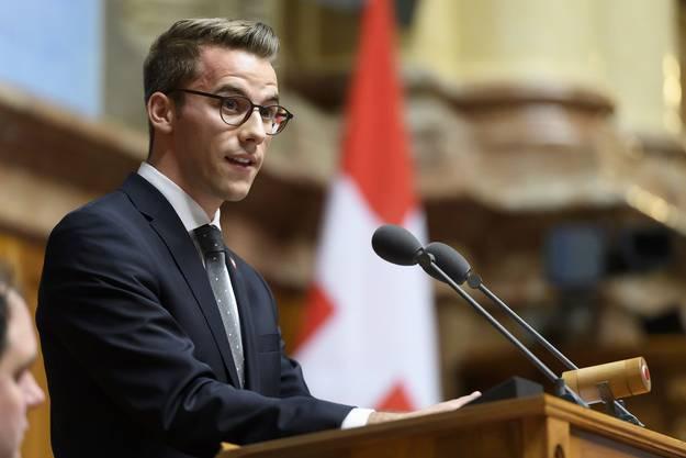 Mit 25 Jahren ist Andri Silberschmidt (FDP) der jüngste Nationalrat - und er ist gegen Stimmrechtsalter 16.