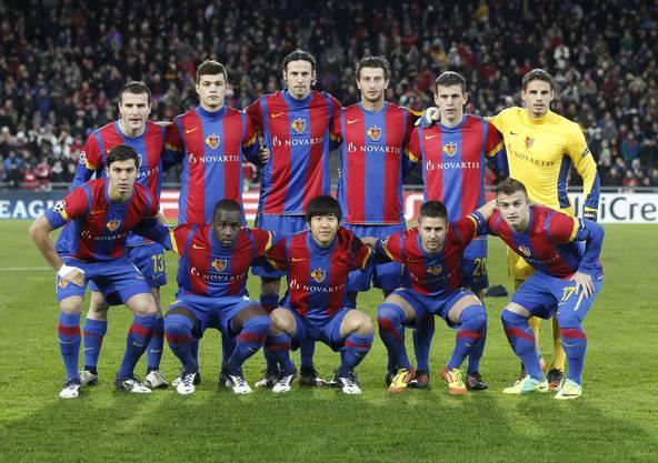 Diese Startelf macht das Wunder von Basel im Dezember 2011 möglich.