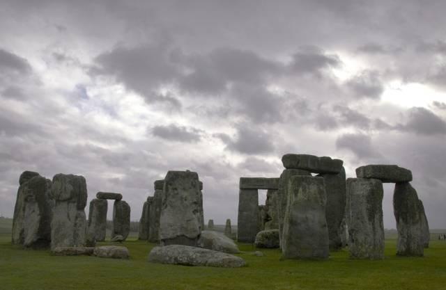 So ist Stonehenge heute zu sehen: ein einsam stehender Steinkreis