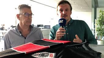 Thumb for 'FCA-Talk vor dem letzten regulären Saison-Spiel gegen Rapperswil-Jona im Brügglifeld.'