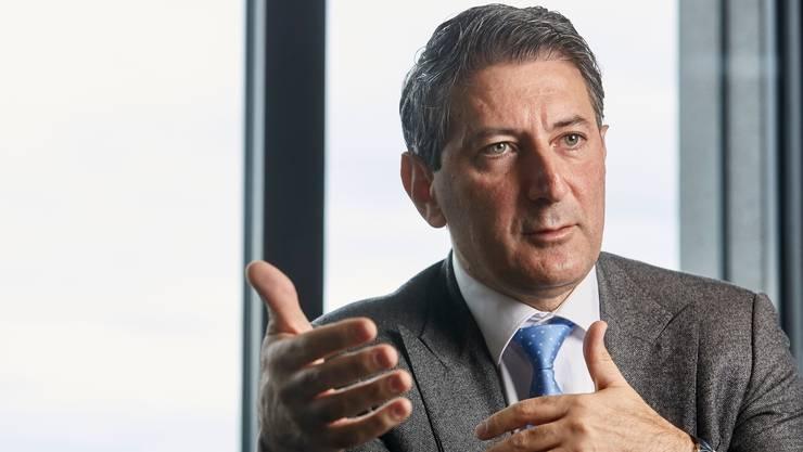 Post-Konzernchef Roberto Cirillo: «Wir wollen damit verhindern, dass in der Schweiz Dienstwüsten entstehen.»