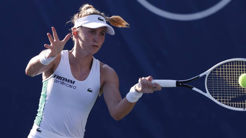 Jil Teichmann erhofft sich den Sprung in die Top 50 des WTA-Rankings.