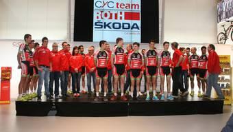 Das Team Roth Skoda fährt seine erste Profisaison.