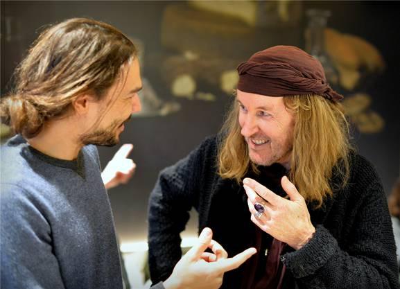 Kevin Merz, Regisseur von «Gotthard – One Life, One Soul», trifft an den Filmtagen Chris von Rohr.