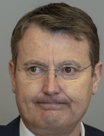 Thomas Burgherr, Parteipräsident SVP Aargau, weiss nichts von der Stamm-Kandidatur.