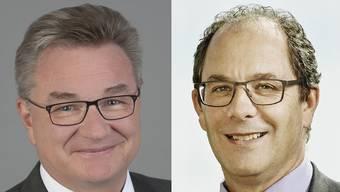 Robert Rhiner (links) und Adrian Schmitter.