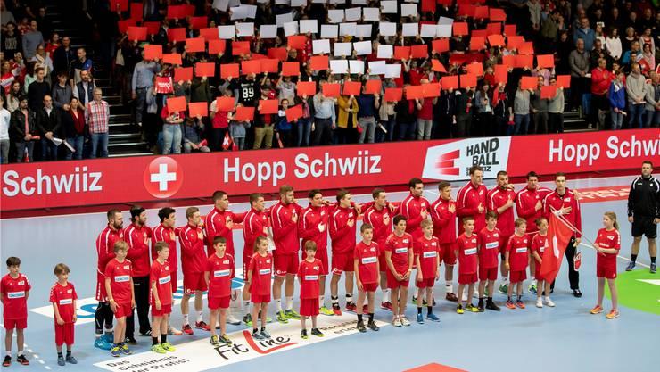 Wieder entdeckt: Unterdessen füllt die Handball-Nationalmannschaft sogar Schweizer Eishockeystadien.